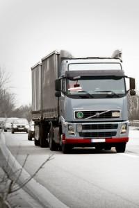mandat za przeładowaną cieżarówkę