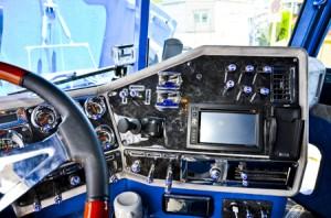kokpit-kontrola pojazdu