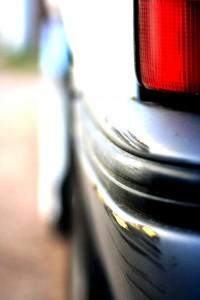 uszkodzenie samochodu