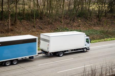 geometria uklądu jezdnego ciężarówek